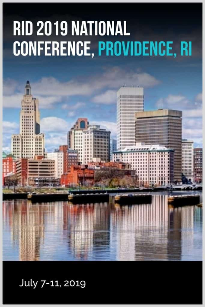 RID 2019 National Conference, Providence, RI