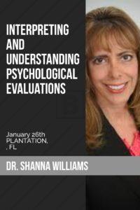 Interpreting and Understanding Psychological