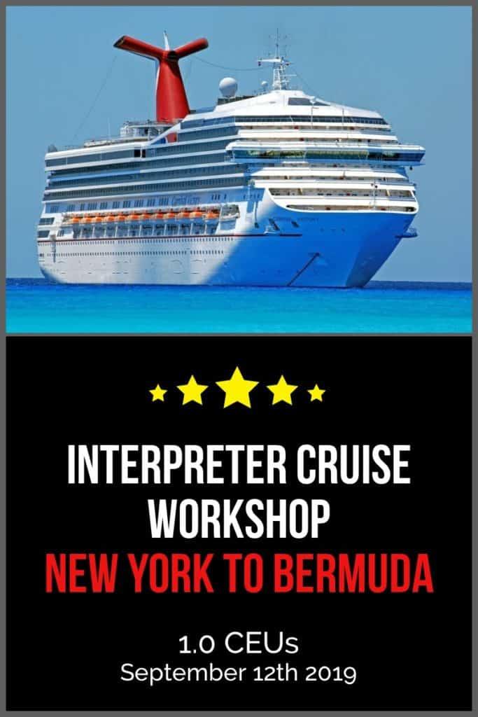 Interpreter Cruise Workshop