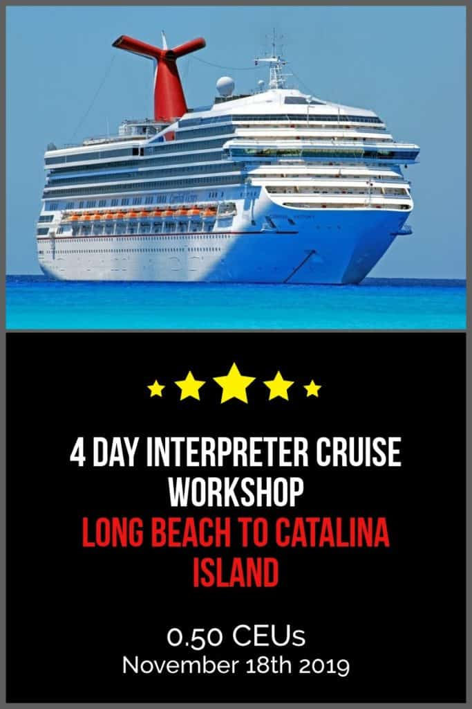 Interpreter Cruise