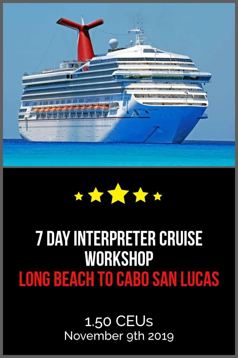 Interpreter Cruise
