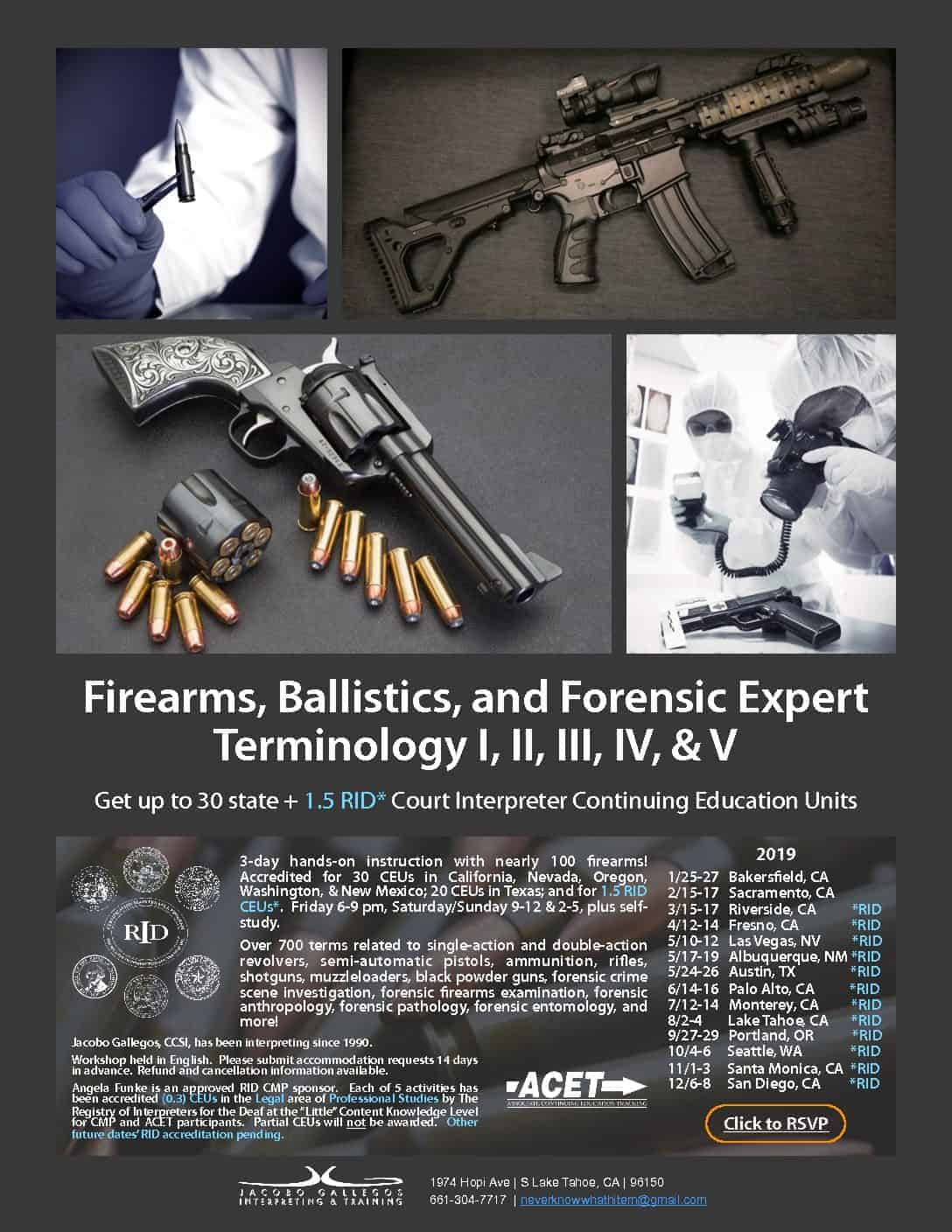 Flyer-Firearms-Ballistics-and-Forensic-Expert-Terminology-3-day-Course-2019-RID-pdf