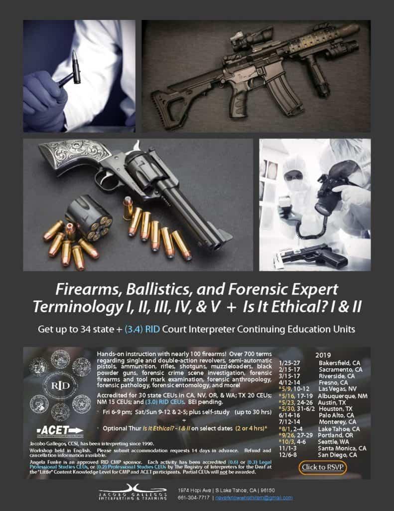 Flyer-Firearms-Ballistics-and-Forensic-Expert-Terminology