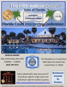Florida Court Interpreter Conference