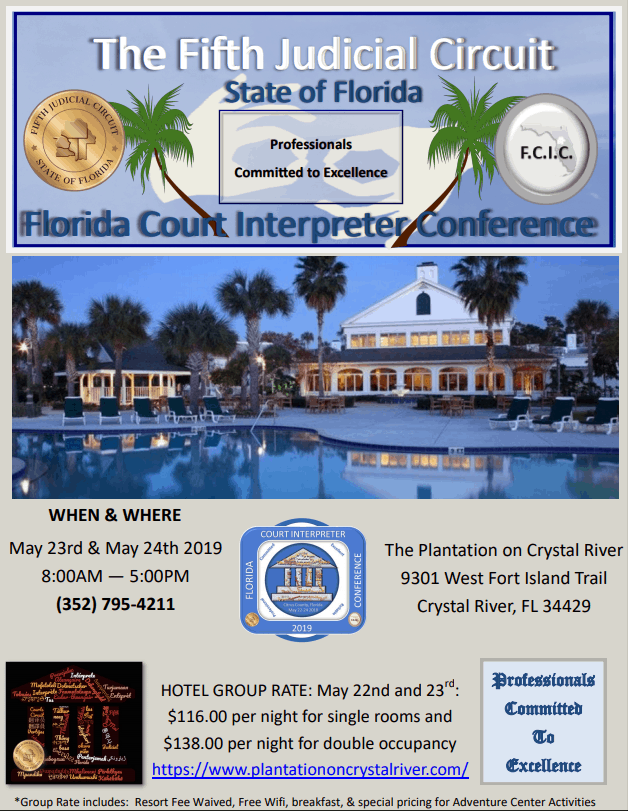 Florida Court Interpreter Conference
