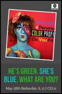 He's Green. She's Blue. What are you?