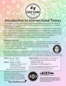Intro to Intersectional Theory
